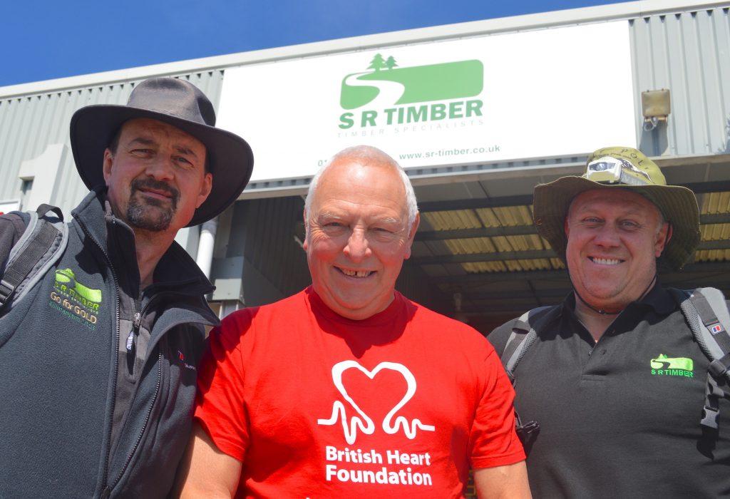 SR Timber duo's Kilimanjaro climb raises £5,000 for heart charity