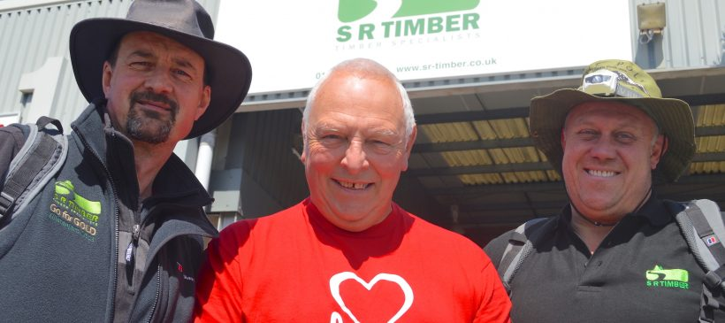 SR Timber duo's Kilimanjaro climb raises £5,000 for heart charity