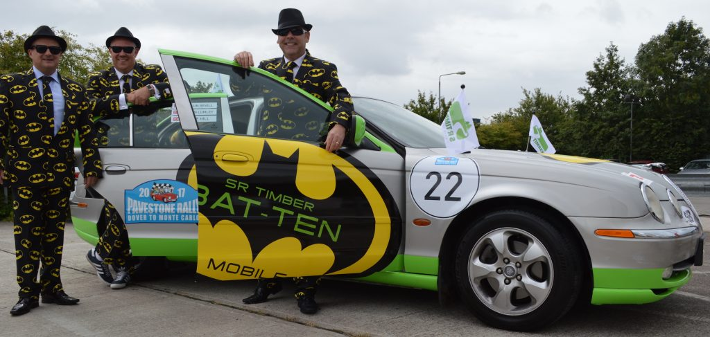 SR Timber completes charity car rally