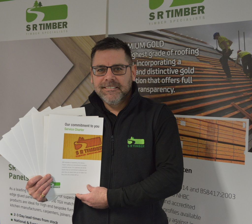SR Timber launches Service Charter